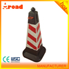 Plastic Material Square Traffic Cone For