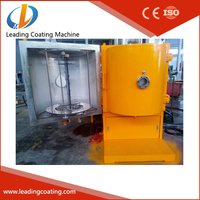 plastic cultery pvd vacuum coating system silver color UV vacuum metalizing machine