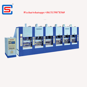 STRONG foam eva injection shoes slipper moulding machine with servo motor