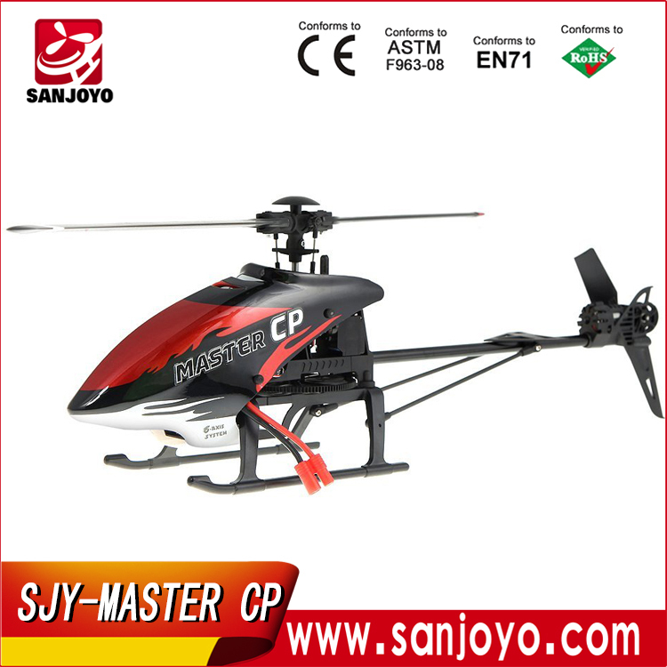 Amazing 6-axis 3D Flight System Performance Walkera MASTER CP Flybarless 6CH RC Helicopter with DEVO 7E Transmitter SJY-Master