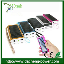 For Sony Samsung HTC Mobile Phone solar charger 1350mAH solar lantern with mobile phone charger with CE ROHS