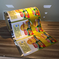 Automatic roll film packaging film for biscuit sachet