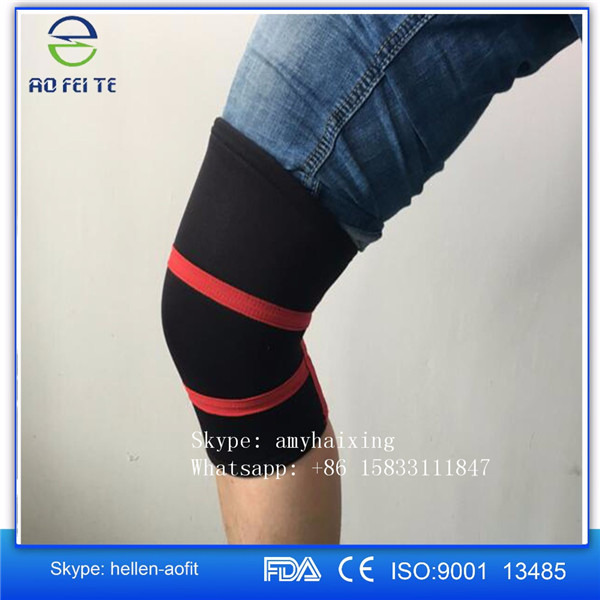 Knee Sleeves for Crossfit, weightlifting, wrestling, basketball, squats, running Compression sleeves in 5mm and 7mm thickness