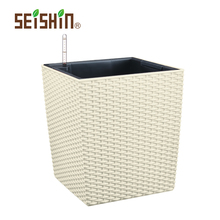 Garden Product Beautiful White Square Flower Pot