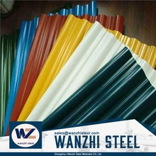 lightweight construction materials Coated Color Steel, color steel roofing sheets