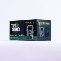 Low Glow Black Field Mini Portable Hunting Equipment Wildlife Scouting Mms Trail camera