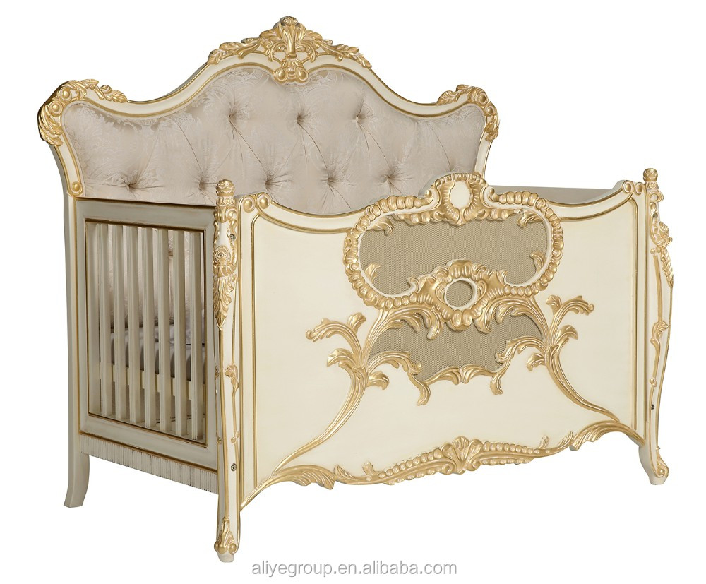 Ak24 Solid Wood Baby Bed Crib Multifunction Wooden Luxury