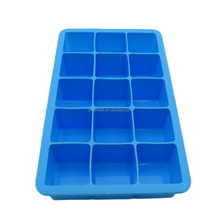 Different colors silicone ice cube tray