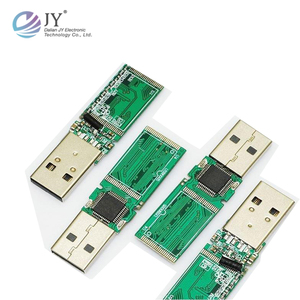 8GB USB Flash Drive PCB Boards Layout Assembly