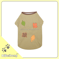 2014 latest new style four leaves cool pet T-shirt/dog clothes