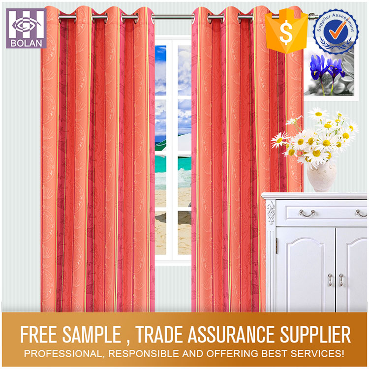 High quality cheap fancy curtains & draperies
