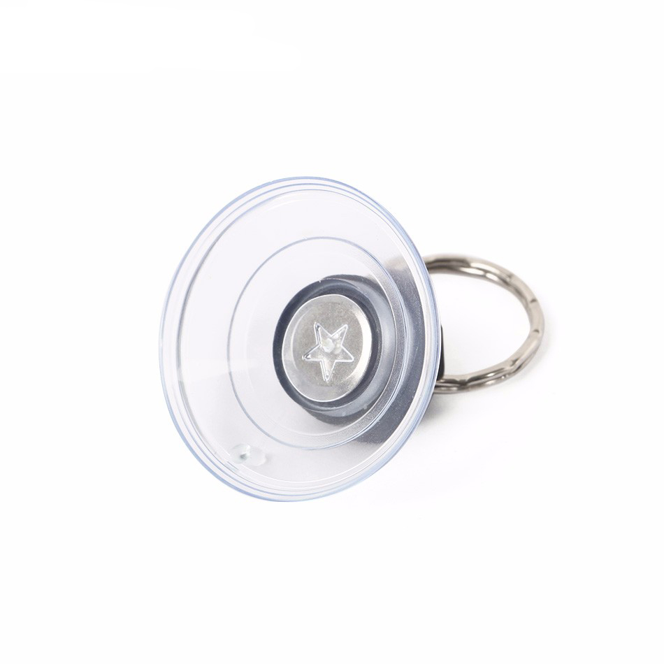 Heavy Duty Suction Cup with Metal Key Ring Disassemble for iPhone Mobile Phone Tablet Opening Repair Tool