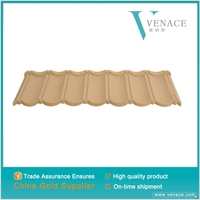 High quality synthetic resin roof tile villa shingle