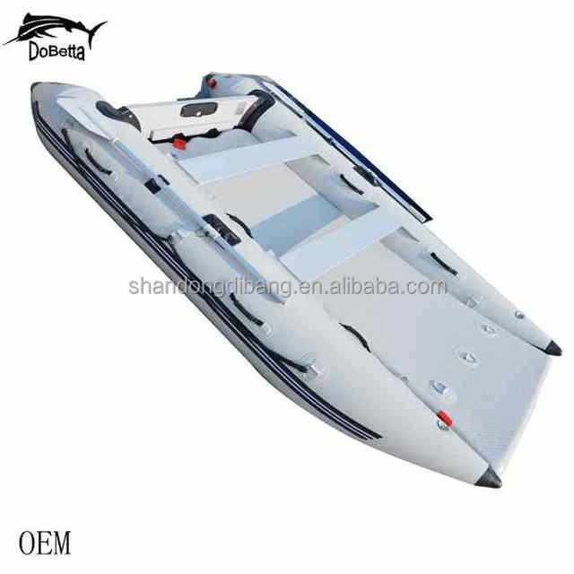 DBSP187 Aluminum Floor hull -rigid hull Yacht, fishing,Sailing, New design Inflatable Catamaran speed boat