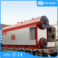 Industrial natural gas fired oil type steam boiler