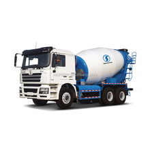 350 KW Shaanqi F3000 6 x 4 cement mixer truck with EUR II emission