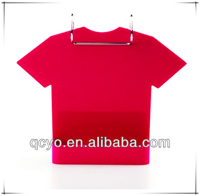 Wholesale Red hanging acrylic calendar display racks