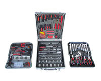 187pcs lebow Germany Design Hand Tool Set with Strong Aluminum Case
