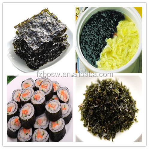 Health Seafood Red Alage Dried Laver Seaweed Porphyra Haitanensis