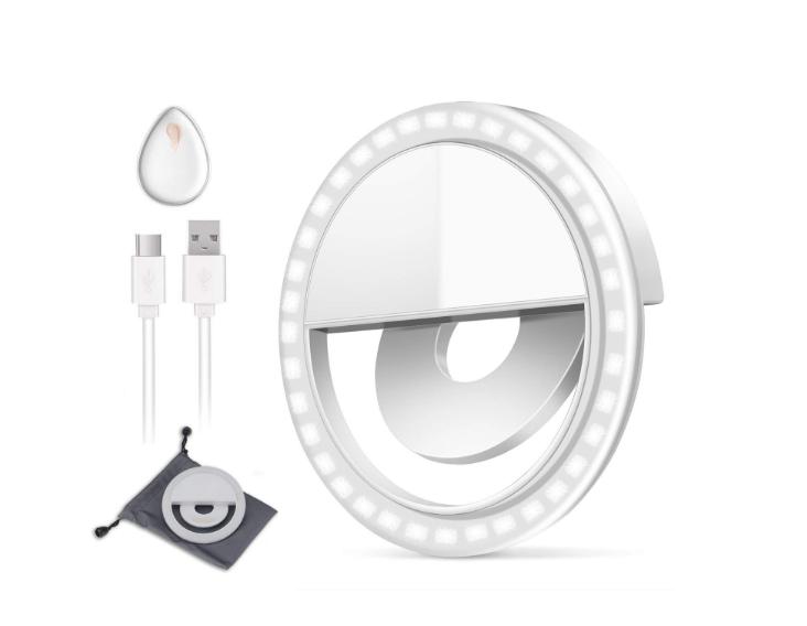 Selfie Ring Licht Outdoor Webcast Unverzichtbar 36 LED Ergänzende 0,5 cm Super Schlank Ring Licht - ANKUX Tech Co., Ltd
