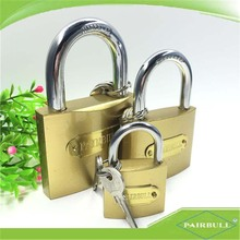 china qualified product 50mm keys system safe brass material lock