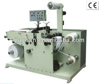 Label Rotary die cutting and slitting machine