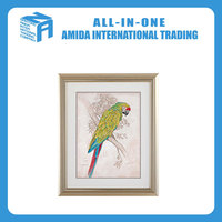 Animal adornment picture, Contemporary and contracted parrot design mural