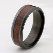 2018 New Tungsten Steel Wood Ring Factory Wholesale Ring Cool Ring