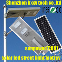 dc 12v/24v bridgelux chips solar led street light with 2 years warranty popular in afghanista iran brasil 50w 70w 80w 90w100w