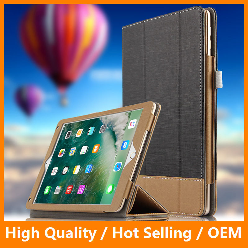Luxury Full Cover Smart Leather Case for iPad Pro 10.5 inch PU Leather Foldable Flip Tablet Magnetic Protector