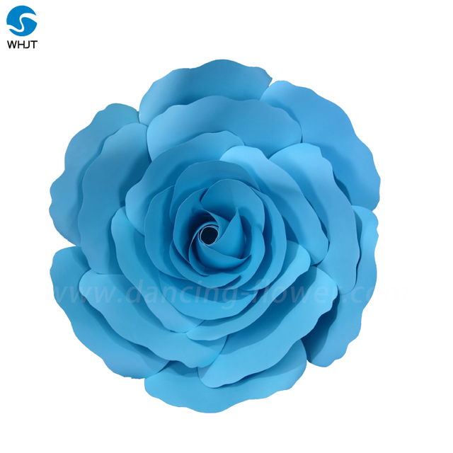 Wholesale Handmade Cheap Artificial Giant Paper Rose Fowers For decoration