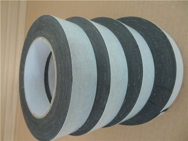 1mm thick black high density double sided eva foam tape cutter