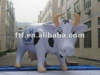 pvc inflatable milk cow for advertising