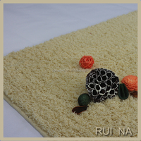 High Quality Polyester Custom Made Manufacturers Shaggy Door Mat