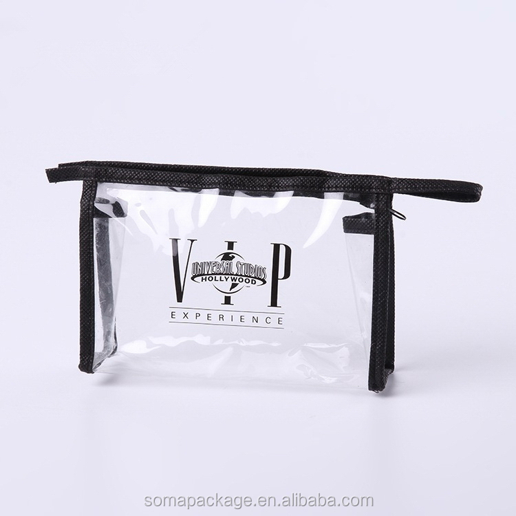 Attractive fashion crazy selling mini clear pvc cosmetic bags