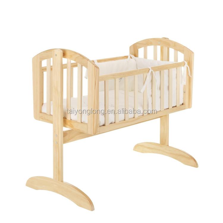 non automatique b b berceau lit pour b b nouveau n bassinet lit barreaux b b id de. Black Bedroom Furniture Sets. Home Design Ideas