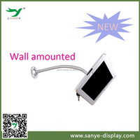 excellent anti-theft adjustable gooseneck wall mount for ipad air