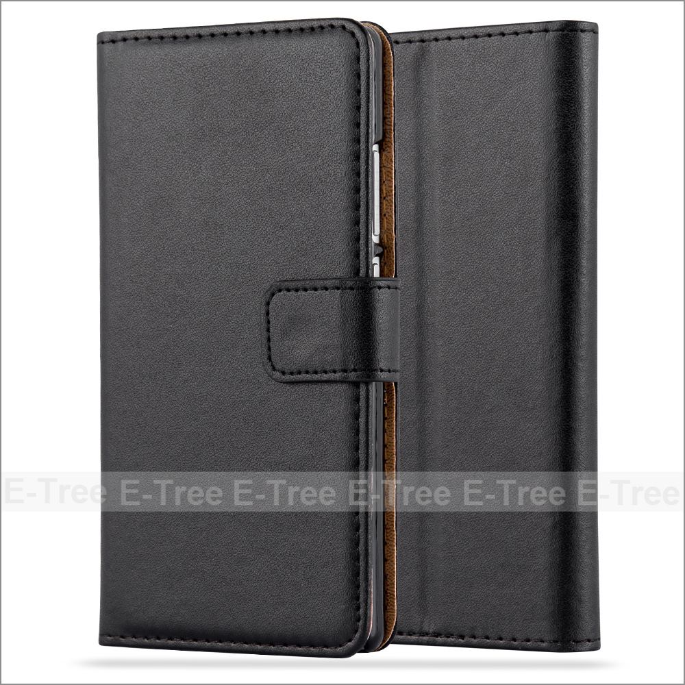 Wholesale PU Leather Wallet Phone Case With Card Slots For Huawei P8 , Flip Cover For Huawei P8