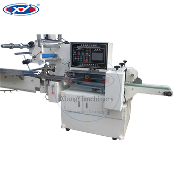 Automatic manual soap pleat wrapping pillow packing machine