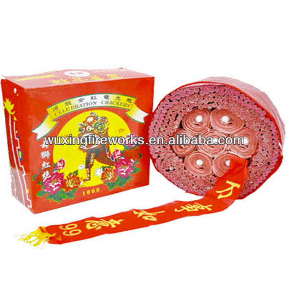 Chinese Red firecracker For New Year/Direct Fireworks Factory