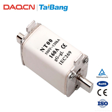 DAQCN Guaranteed Quality Low-tension NT00 500V 160A Safety Fuse Link