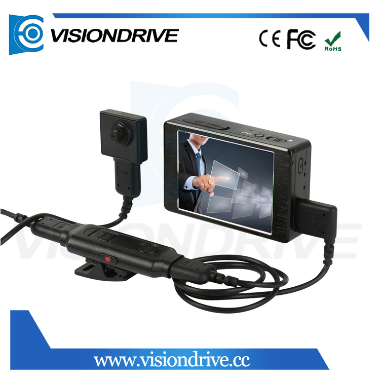 VD8000II+501 3 inch 960*320 TFT LCD Touch Display mini dv handycam camcorder waterproof micro camera for police