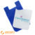 Business gift silicone mobile phone card holder with pu screen cleaner