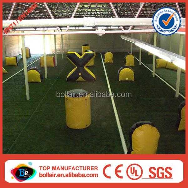 Super popular cheap inflatable paintball shooting range