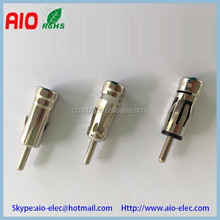 Line pressed type car antenna plug connector ISO antenna plug car radio FM/AM antenna adaptors