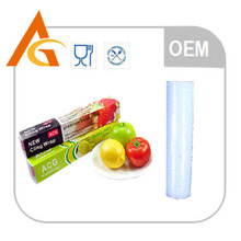 catering pe cling film roll with cutter slide for keeping food fresh