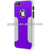 Good quality and high reputaion aluminium case for iPhone 5 in stock,unbreakable phone cases for iphone 5