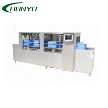 Automatic Stainless Steel Plastic Crate Washing Machine in Food Industry
