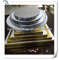wholesale high quality and cheap price food grade corrugated cake boards and drums