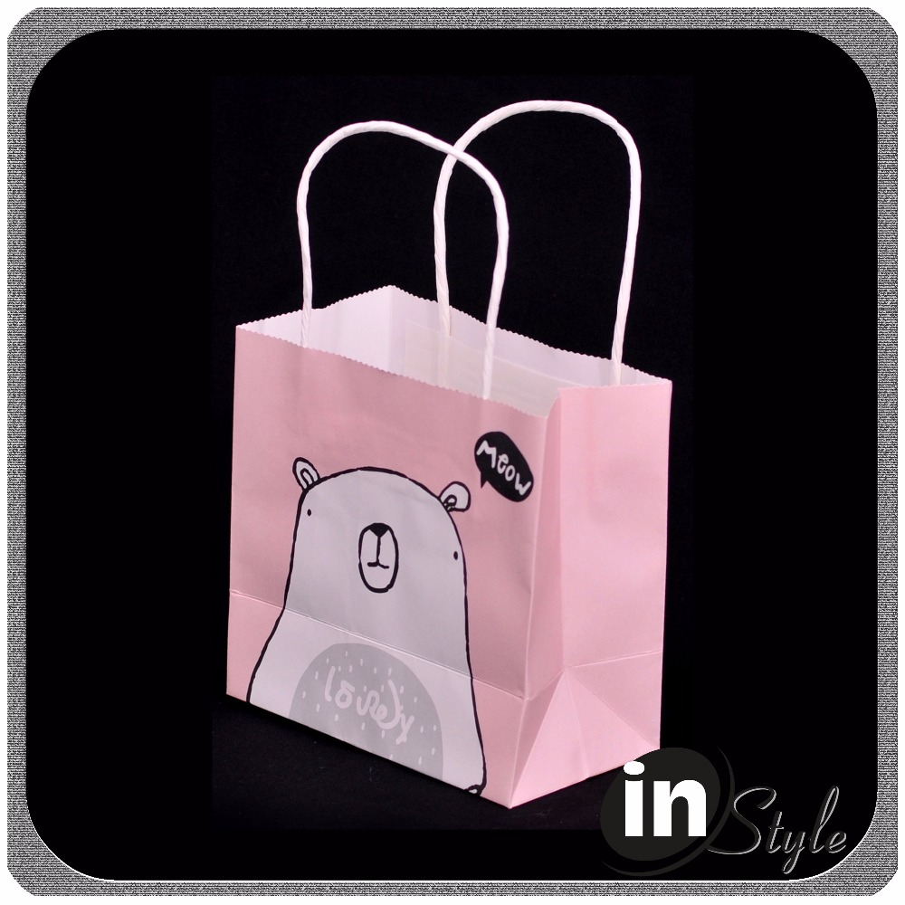 wholesale paper gift bags, brown paper bag with handle, the paper bag company